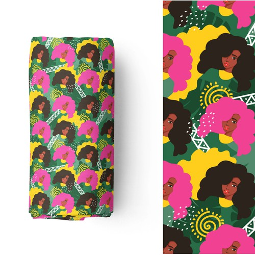 Textile Design Patterns for African American women