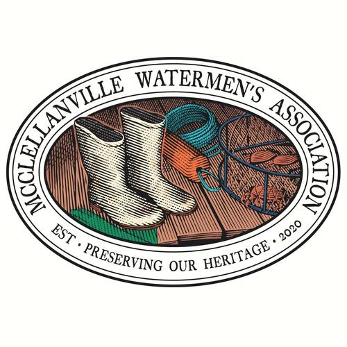 Logo concept for McClellanville Watermen's Association