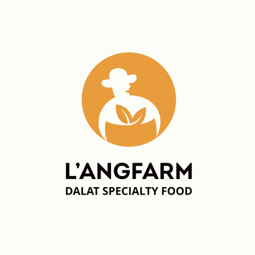 Logo redesign for agriculture-originated gourmet food manufacturing and retailing.