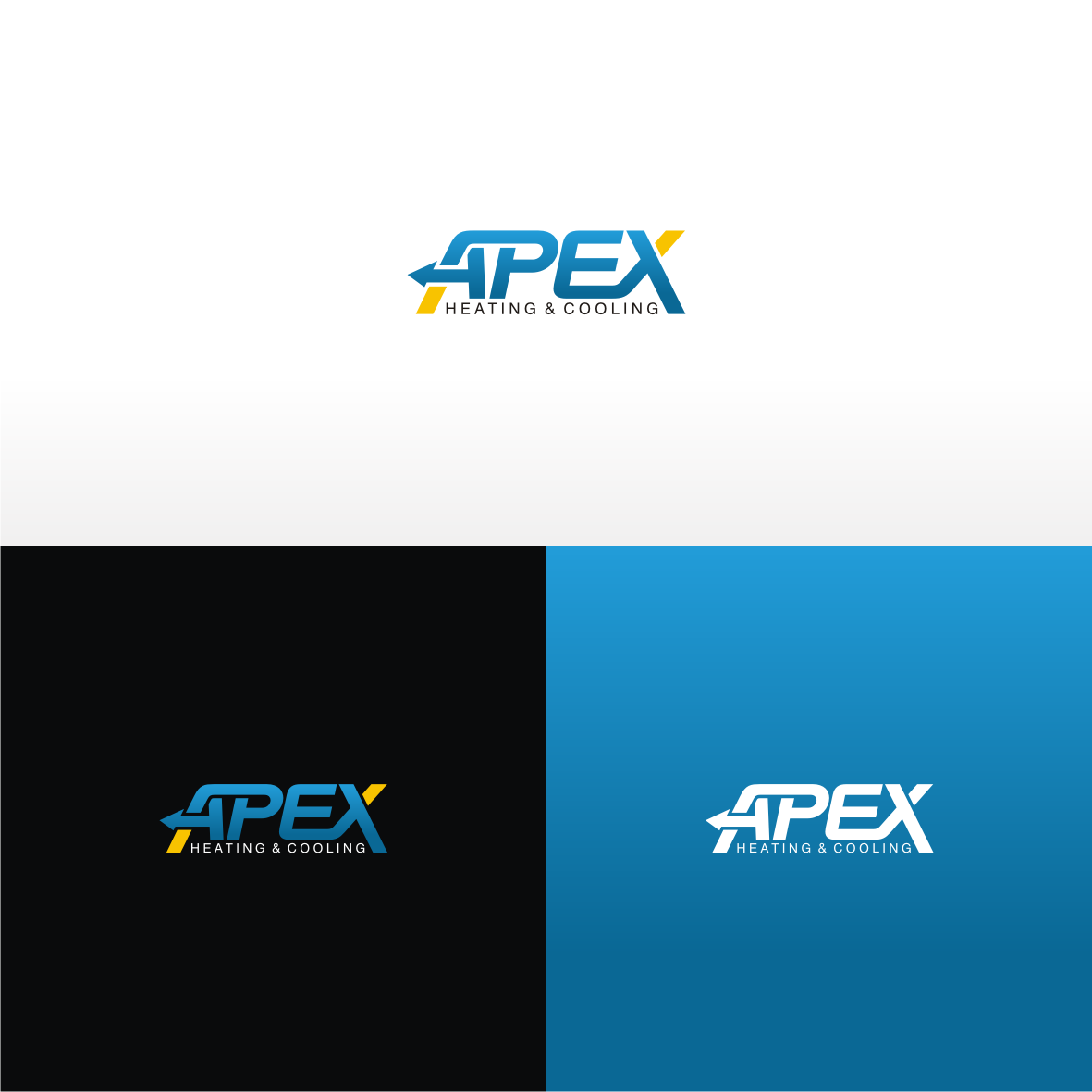 Apex Heating & Cooling needs a sharp new logo