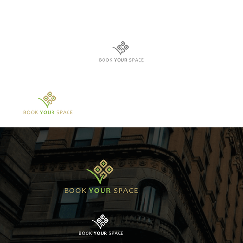 Logo for a platform that facilitates therapy room booking