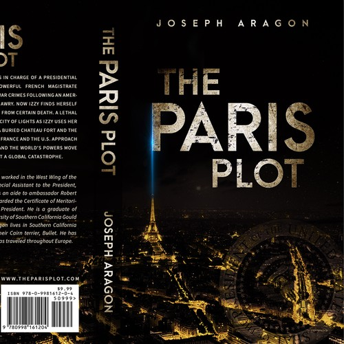 The Paris Plot - a political thriller