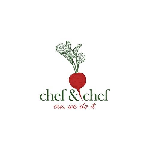 Vibrant radish for chef