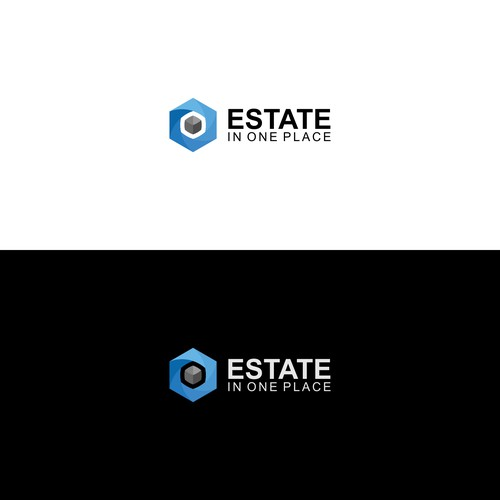 "Logo concept for a company called ""Estate In One Place"