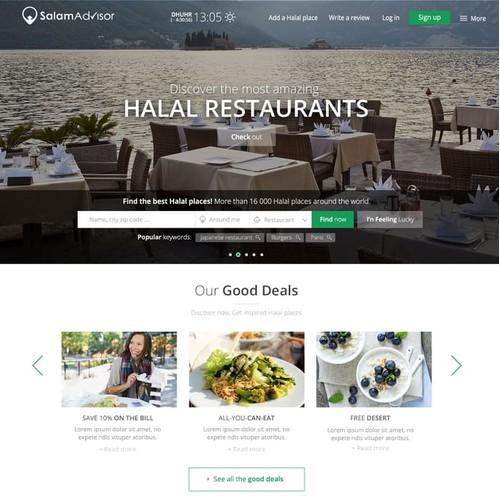 SalamAdvisor Web Design