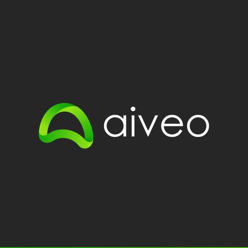 """aiveo"" Logo Design"