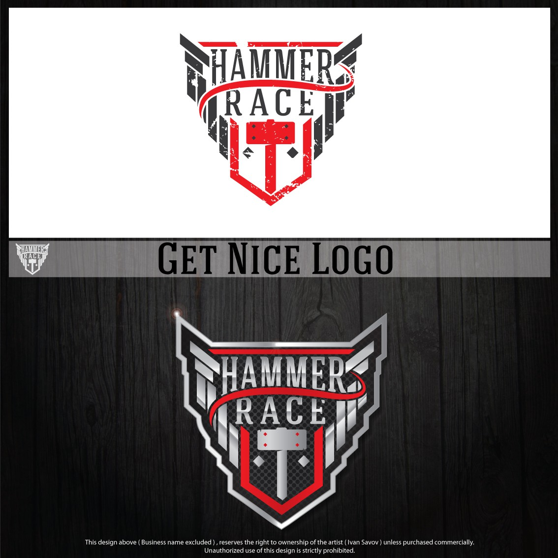Hammer Race needs a new logo