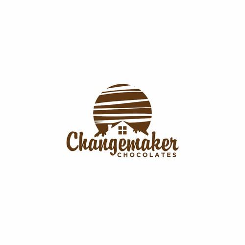 Logo Design For Changemaker Chocolates