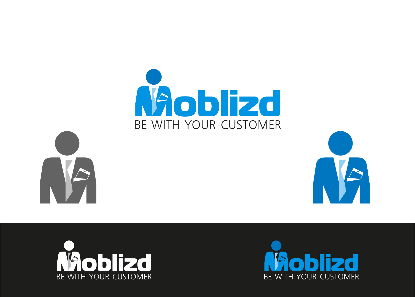 Create the next logo for Moblizd