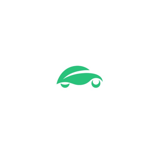 Logo for electric cars rental start up