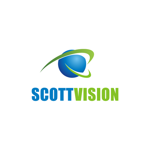 Create a striking eye and incorporate it into my company name
