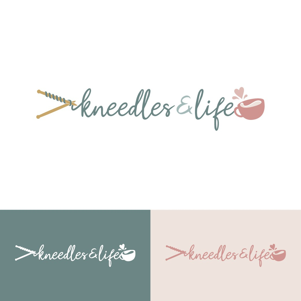 Knitting designer turned blogger/influencer needs rebranded logo