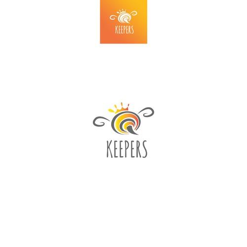 Logo for honey production business