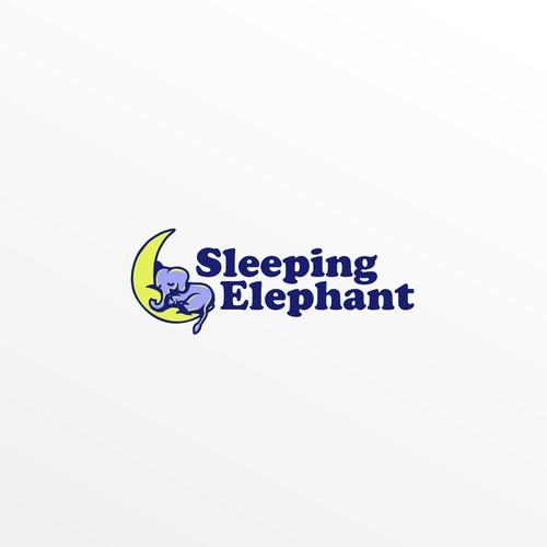 slleping elephant