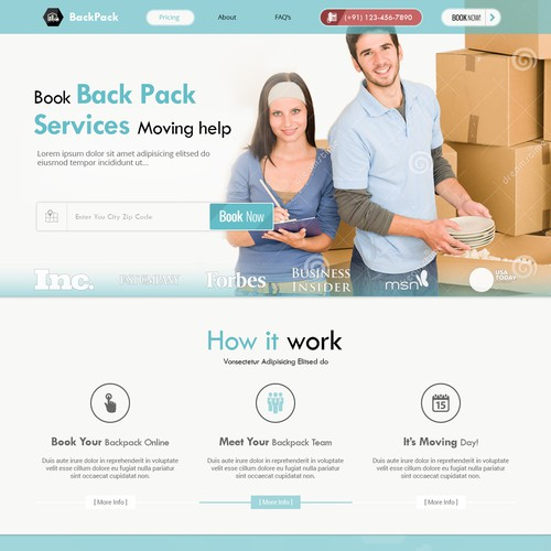 Venture backed Startup Company for Home/Apt. Moving