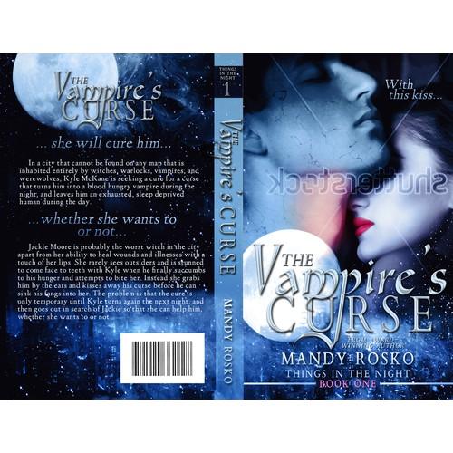 Paranormal Romance Novel Cover
