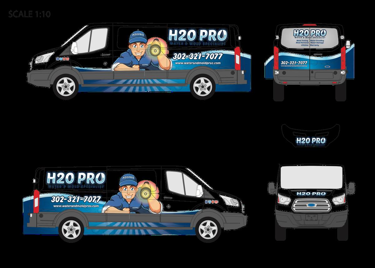 H2O PRO - 2017 FORD TRANSIT 150