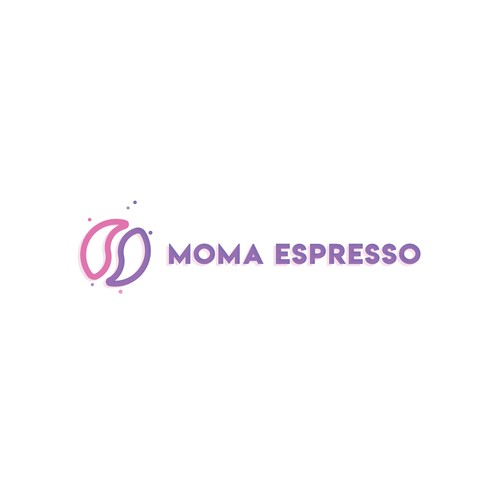 Making a logo concept for moma espresso