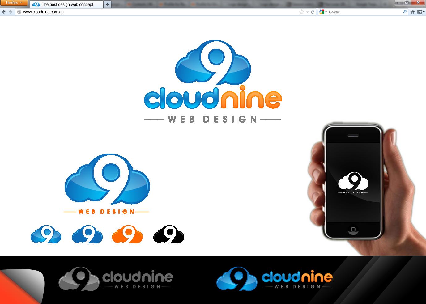 Cloud Nine Web Design needs a new logo