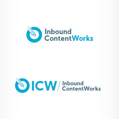 Logo needed for Inbound ContentWorks website that's clean, modern, and professional