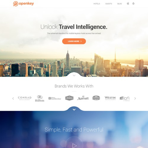 Web Design for OpenKey