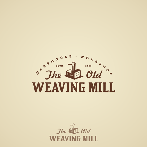Logo for The Old Weaving Mill.