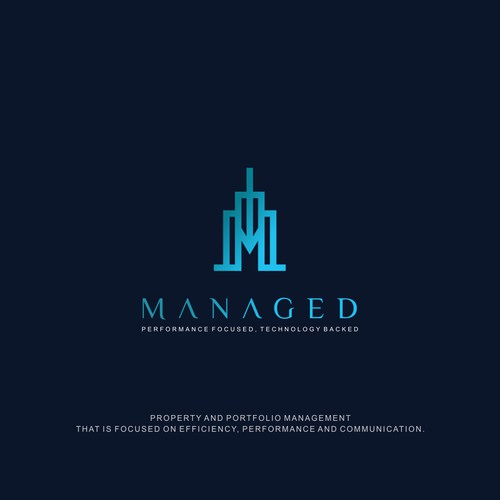 Sophisticated logo for Property management company
