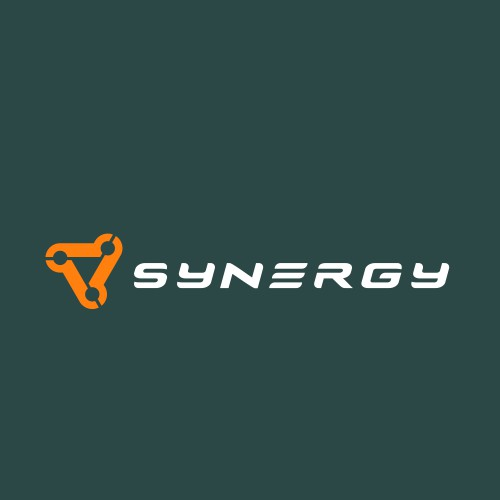 Modern Synergy Logo Design