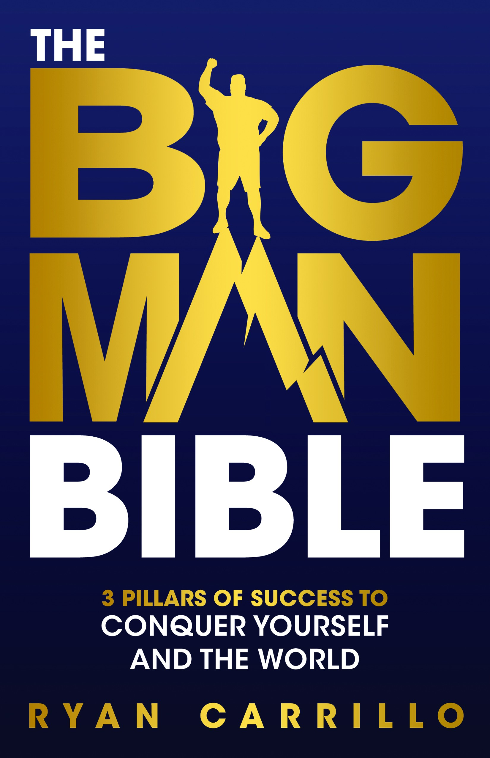 The Big Man Bible Book Cover - Design a life changing book cover for the man in your life