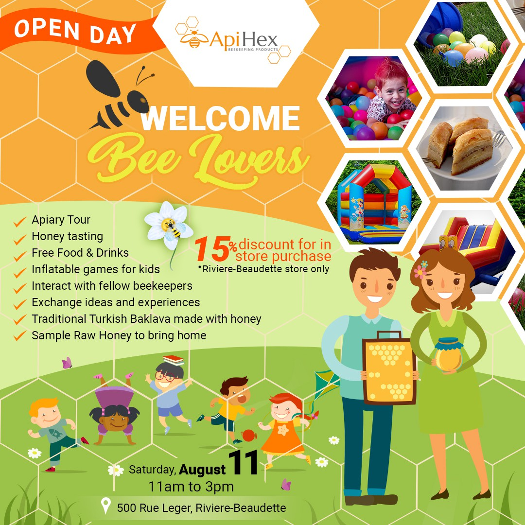 ApiHex - Open Day Banner