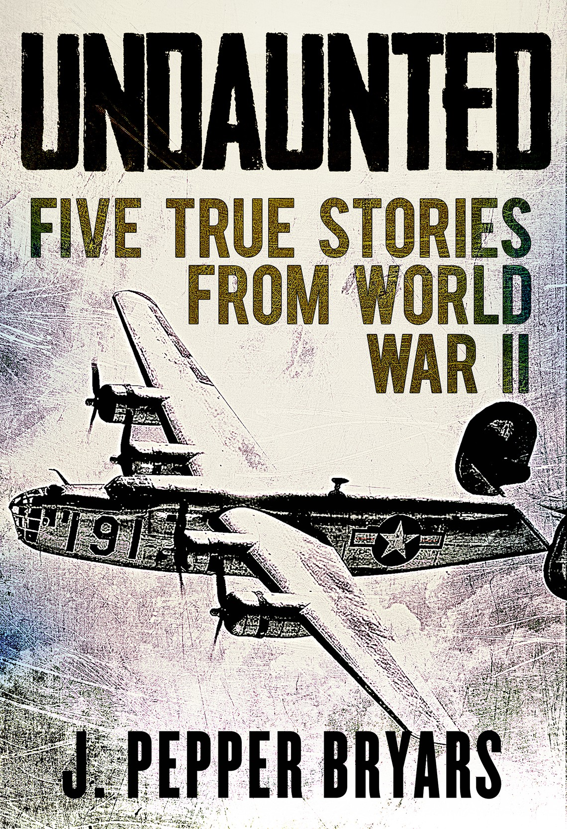 """eBook cover for """"Undaunted: Stories from World War II"""""""