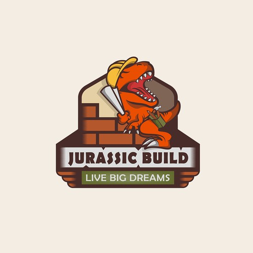 Logo design - Jurassic Build