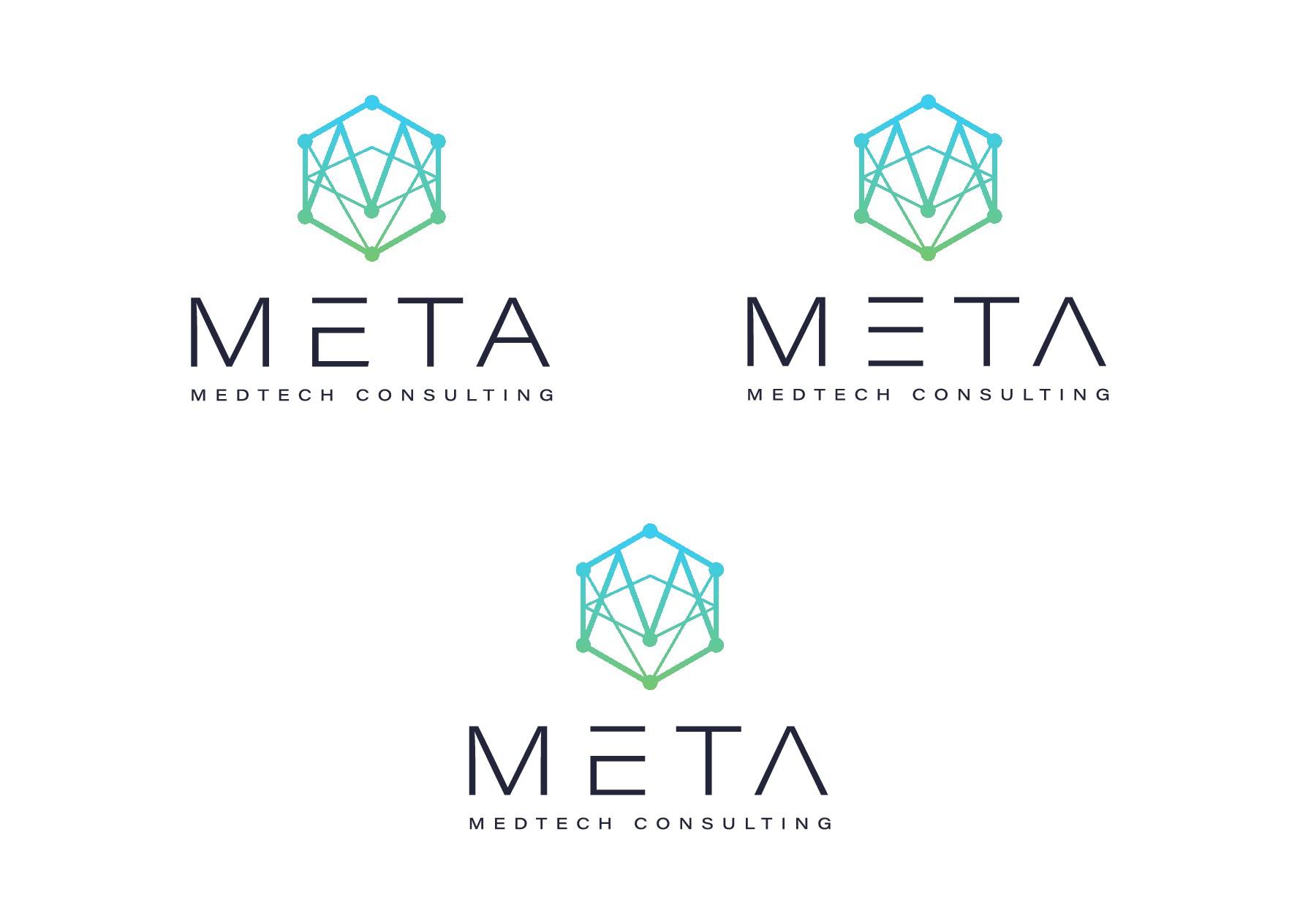 Meta consulting needs an innovative hi-tech logo