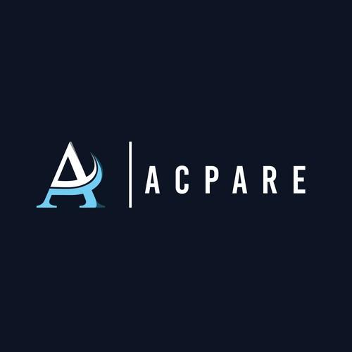 """Brief and Clean """"Acpare"""" logo"""