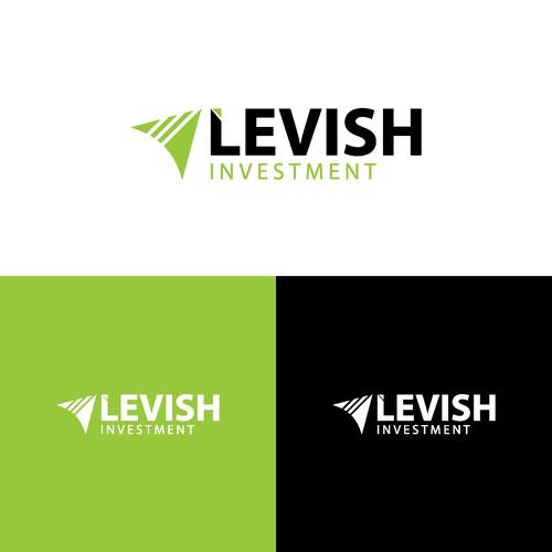 logo concept for levish invesment