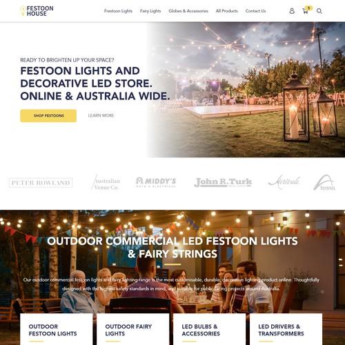 E-Commerce Lighting Store Shopify Theme