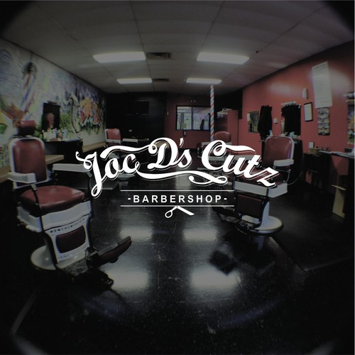 Create Urban/Vintage, Easy to Read Logo for Joc D's Cutz Barbershop