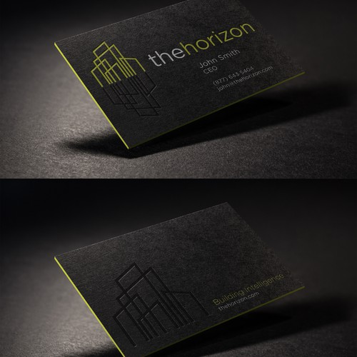 Business Card Concept For The Horizon