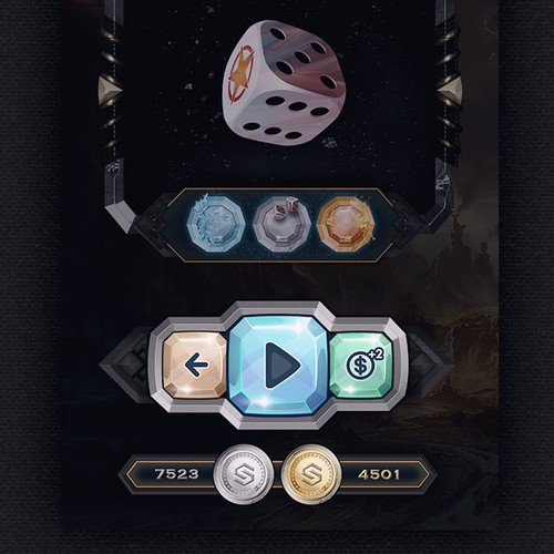 Diceon Game App Design