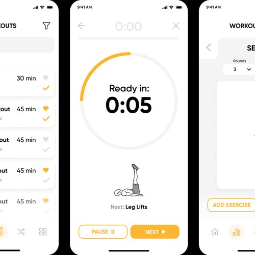 Workouts App