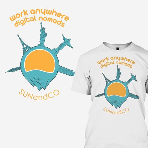 Sun and Co t-shirt