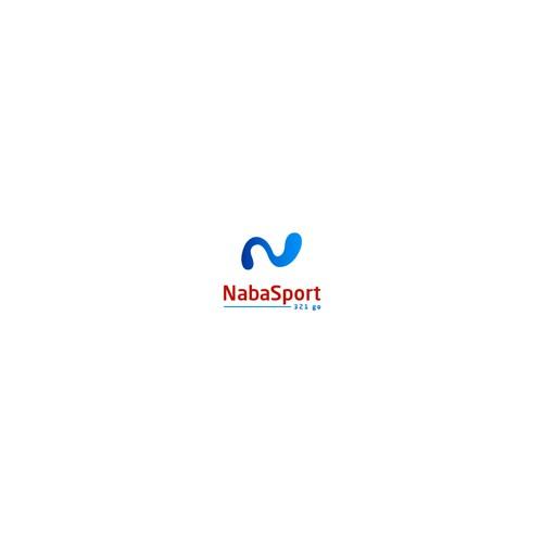 bold logo concept for naba sport