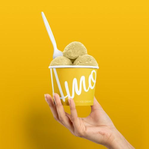 Ice cream cup concept
