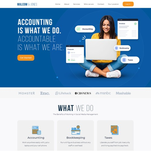Modern & Professional Website Needed for Canadian Accounting Firm