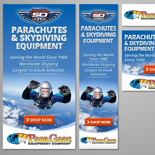 New banner ad wanted for Para-Gear
