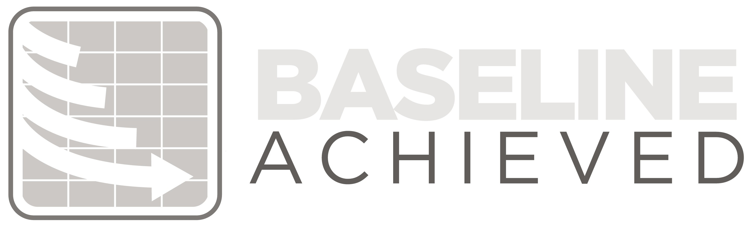Create a professional logo for project management consulting business Baseline Achieved