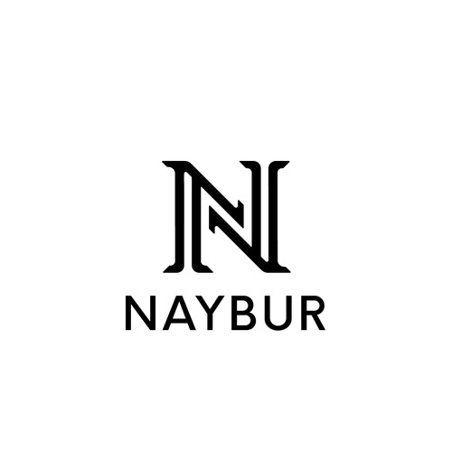 Naybur logo design