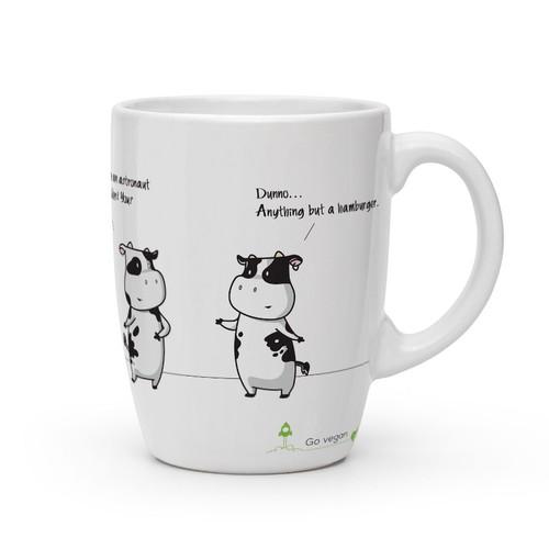 Funny vegan mugs
