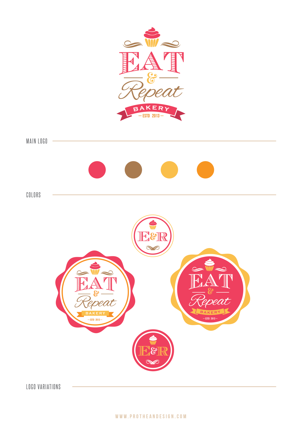 Create the next logo for Eat & repeat