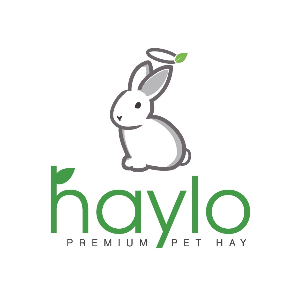 Clean/cute bunny or hay logo design for small pet feed brand
